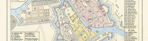 Geschiedenis van Berlijn - Kaart rond 1688