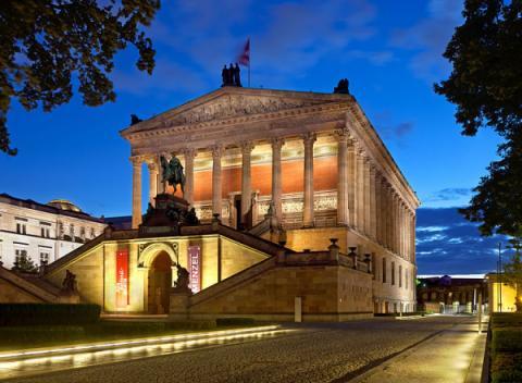 Alte Nationalgalerie Museum Berlijn