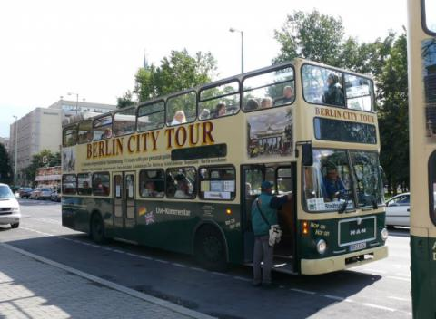 Berlijn City Tour Tourist Bus
