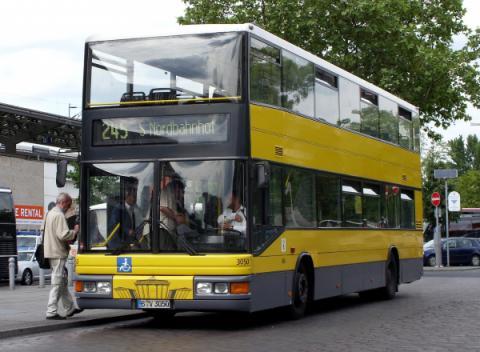 Bus Berlijn (Openbaar Vervoer)