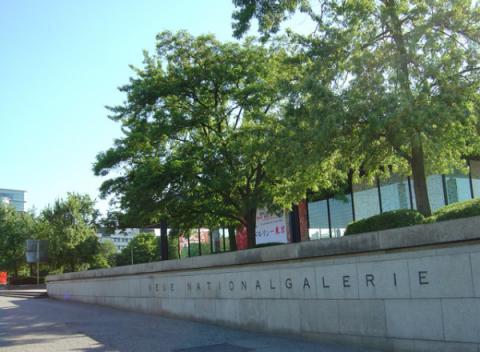 Neue Nationalgalerie Museum Berlijn