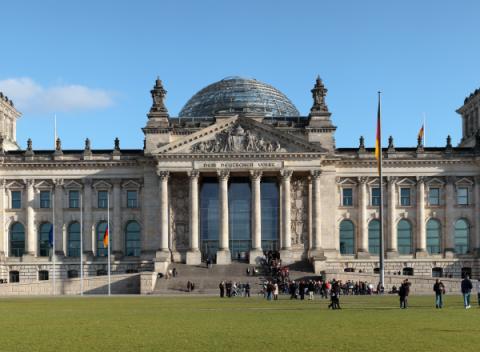 Rijksdaggebouw Bezienswaardigheden Berlijn